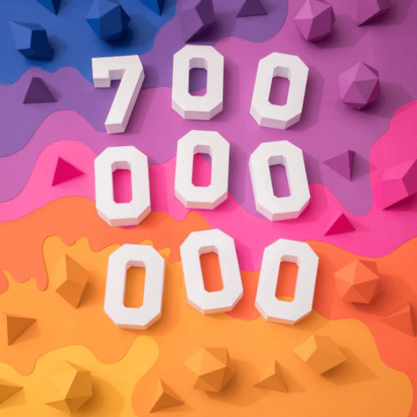 Instagram reaches 700 million users worldwide.