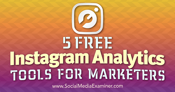 Use analytic tools find out if your Instagram marketing is working.