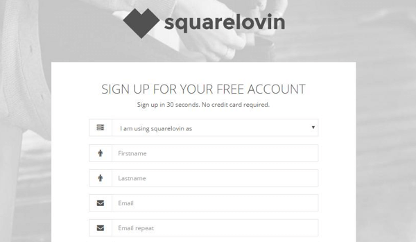 Sign up for a free Squarelovin account.