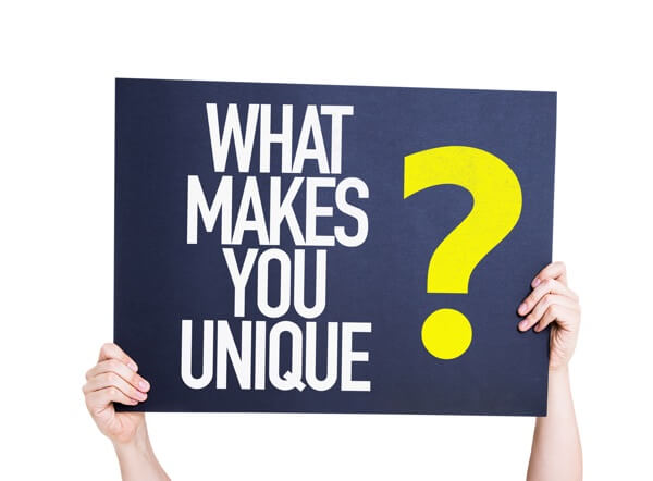 Focus our marketing on what sets your business different apart from competitors.