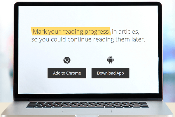 Markticle is a Chrome extemsion and Android app for bookmarking and highlighting content.