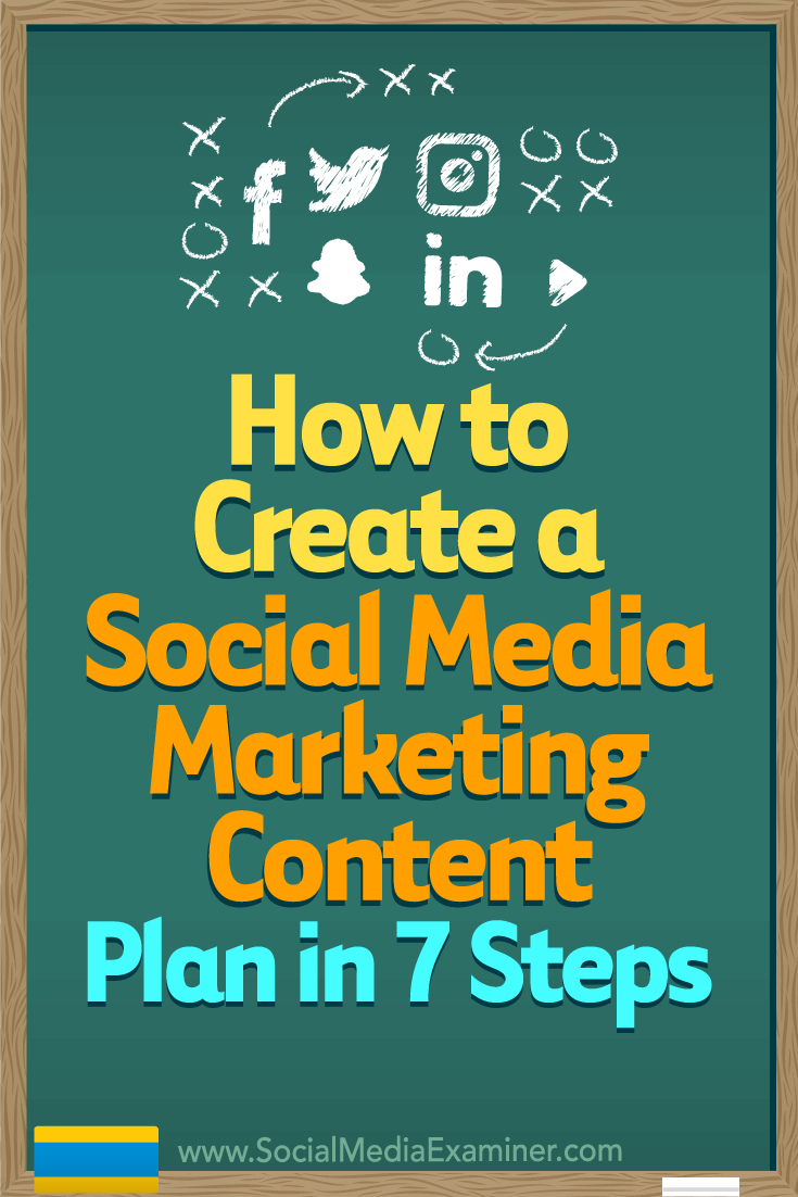 How to Create a Social Media Marketing Content Plan in 7 Steps by Warren  Knight on
