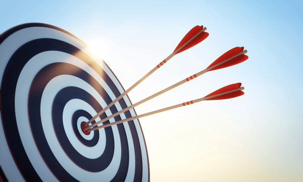 Set a monthly revenue target for your Facebook campaign.