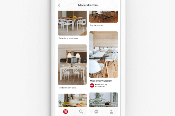 Pinterest is starting to apply its visual search technology and discovery tools to its base of advertising content.
