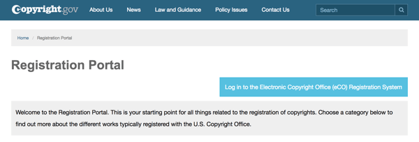 Use The Registration Portal On Copyright.gov To Guide You Through The  Process.
