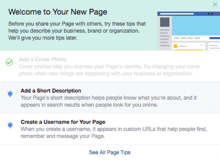 Build A Facebook Page For Business