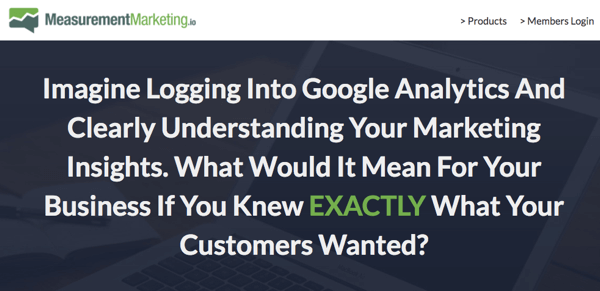 Measurement Marketing is dedicated to making Google Analytics more accessible to the masses.