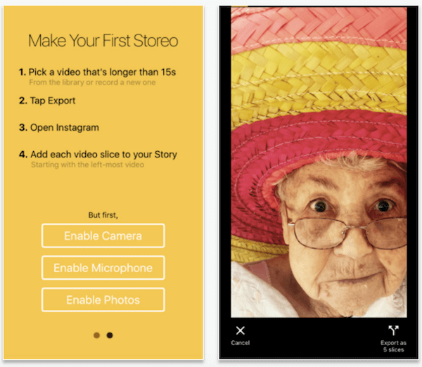 Convert your videos into seamless Instagram Stories with Storeo.
