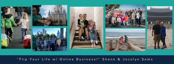 Flipped Lifestyle helps families make money online.