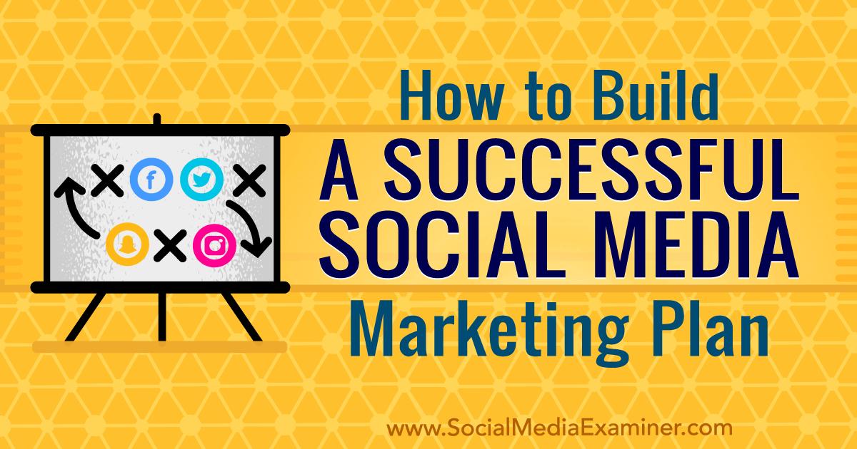 b18396665dd How to Build a Successful Social Media Marketing Plan by Pierre de Braux on Social  Media