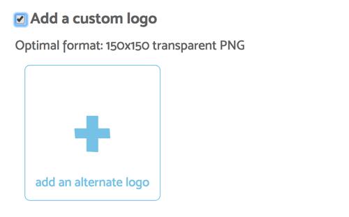 BeLive lets you upload a custom logo for your interview broadcast.