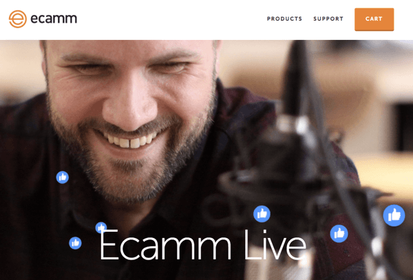 Ecamm is great for a quick and easy show.