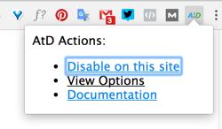 Klicken Sie auf das Werkzeugsymbol in der Symbolleiste des Browsers und wählen Sie Ansichtsoptionen.