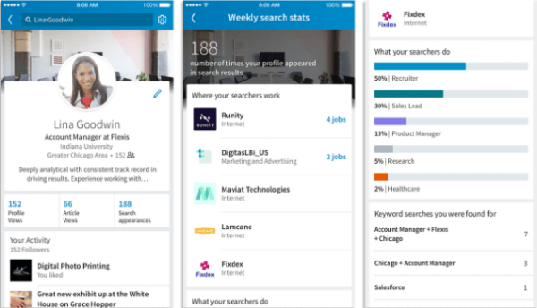 LinkedIn rolled out three new features that give greater context to connections, simplify profile customizations, and allow members to find out who is searching for their profile.