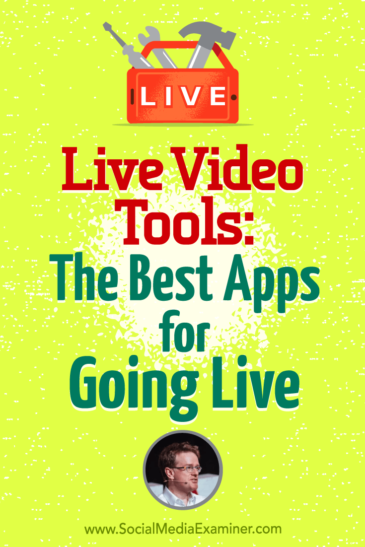 Live Video Tools: The Best Apps for Going Live featuring Ian Anderson Gray on Social Media Examiner.