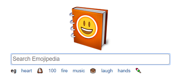 Emojipedia is a search engine for emojis.