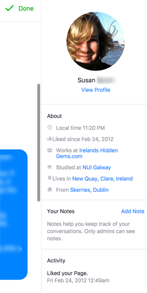Every message in your unified inbox includes helpful, publicly visible information to quickly enable better communication.