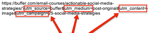 Add URL parameters to the links you share on YouTube so you can track traffic to your site.