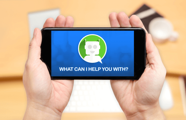Chatbots can be either simple or complex.