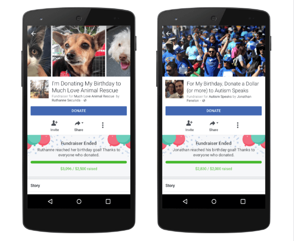 Facebook announced two new experiences that it will make birthdays more meaningful.