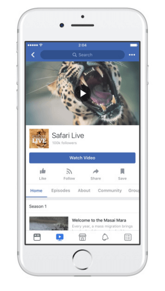 Facebook Show Pages makes it seamless to create and publish new episodes for the Watch tab.