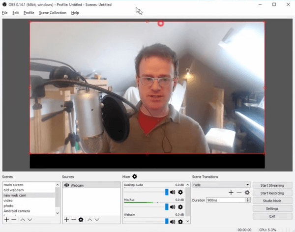 OBS Studio is a free tool that lets you manage your Facebook Live broadcasts on desktop.