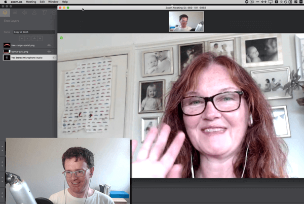 Zoom is a videoconferencing tool you can use to bring a co-host into your Facebook Live show.