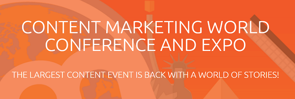 Attendance at the first Content Marketing World was significantly higher than expected.