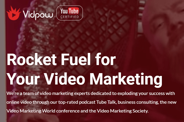 Jeremy Vest's company, Vidpow, helps brands with their videos.