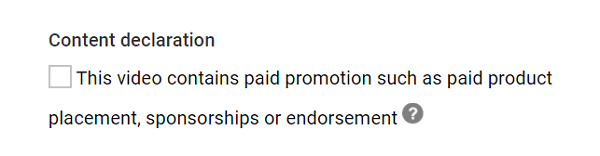 Influencers must disclose when they are getting paid for an endorsement.