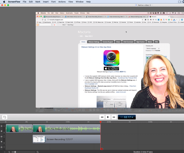 Create professional videos on your desktop and send them to mobile to upload to LinkedIn.