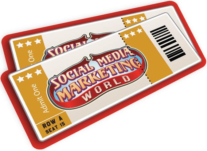 Virtual Ticket Social Media Marketing World : Social Media Examiner