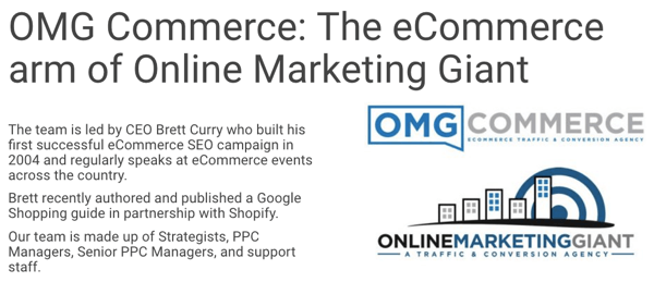 OMG Commerce is a full-funnel agency.