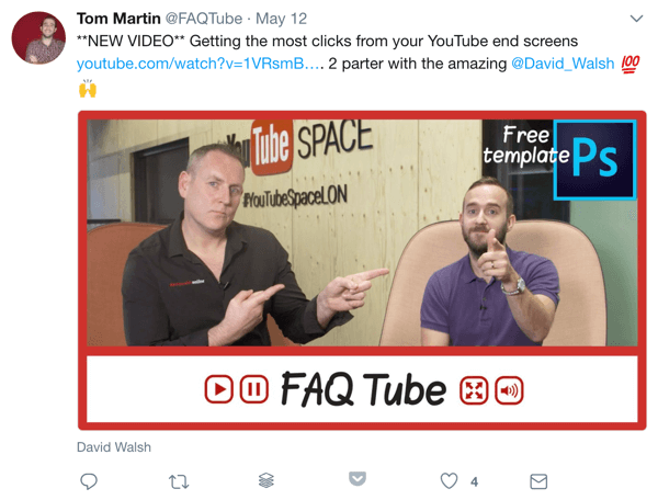 Promote new YouTube videos at optimal times for secondary language audiences.