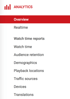 Open Creator Studio to access your YouTube analytics data.