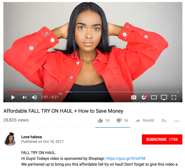 Channel hosts in the fashion industry might share items items they brought back from a recent shopping trip and talk about their experience.