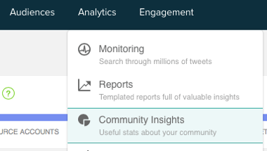 Get community insights for your custom audience.