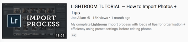 The first two lines of your YouTube video description are critical.
