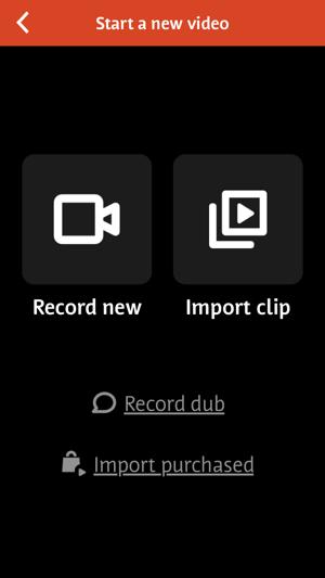 Videoshop werkt ook goed voor het bewerken van vierkante video's.