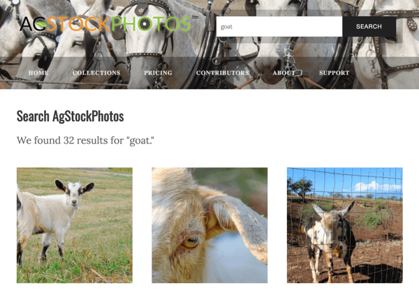 AgStockPhotos features agricultural-themed photos.