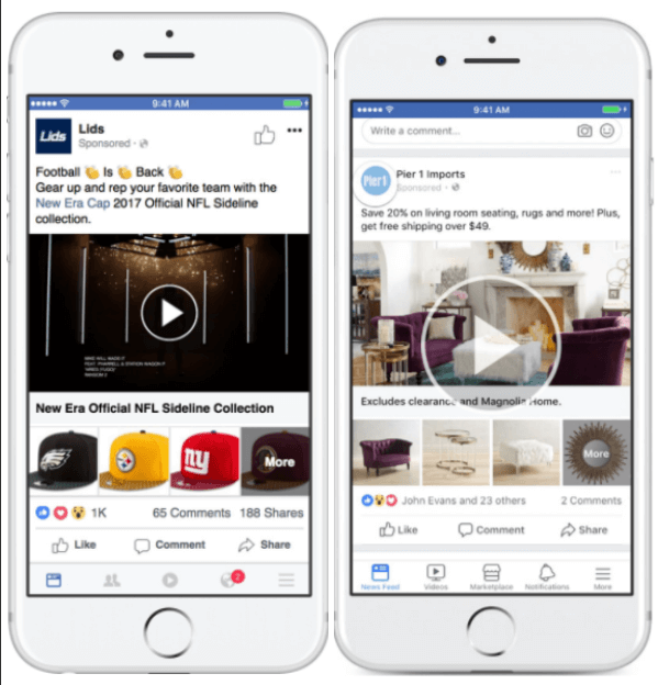 Facebook updates Collections ads to have more flexibility in displaying products.