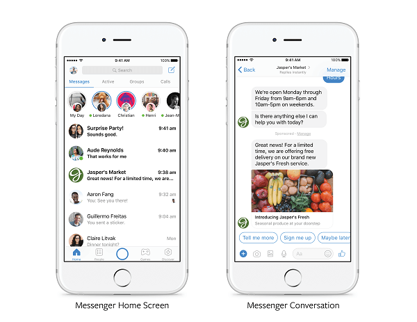 "Facebook announced that ""in the coming months"" all advertisers will be able to send relevant promotions directly to customers who have previously communicated with a brand in Messenger."