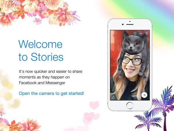 Facebook merged Messenger Day with Facebook Stories and released it as one experience simply called Stories.