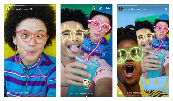 Instagram users can now remix friends' photos and send them back for fun conversations.