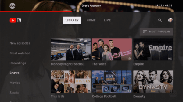 Starting this week, YouTube viewers will be able to stream live TV through the new YouTube TV apps for Android TV devices and for the Xbox One family of devices.