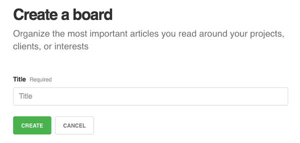 Unlimited boards is one benefit to Feedly pro.