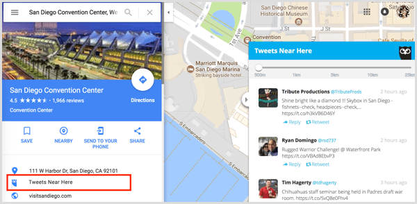 hootsuite hootlet extension google maps