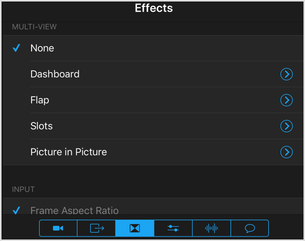 switcher studio multi-view effects