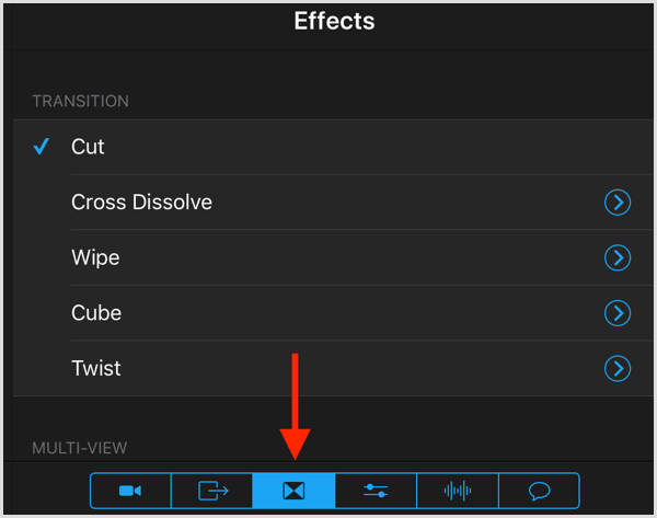 switcher studio transition effects