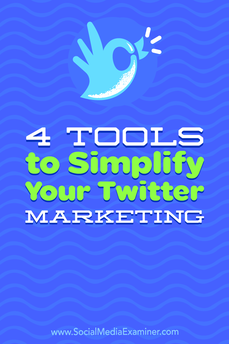 Discover four tools to help you get more out of Twitter while spending less time on the platform.